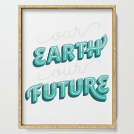 Earth Future Serving Tray