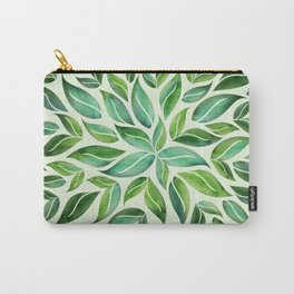 Spring Leaf Mandala Carry-All Pouch