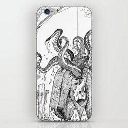 The Octopus iPhone Skin