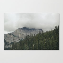 Road to Banff Canvas Print