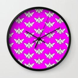Hercules Beetle Pattern No. 2 Wall Clock