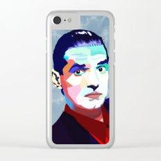 Portrait of Hans Holzel (Falco) Clear iPhone Case