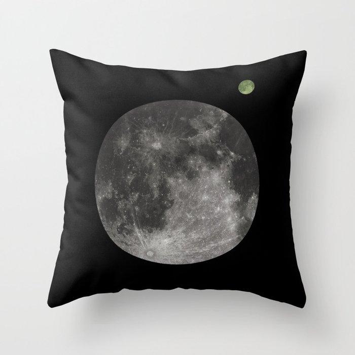 Moon - 1Q84 inspired. Clean Deko-Kissen
