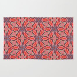 Summer Splash - Coral Rug