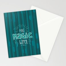 Make Magic Happen! Stationery Cards