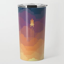 Clouds Travel Mug
