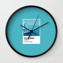 PANTONE SERIES – OCEAN BREEZE Wall Clock