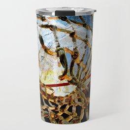 Basketball art 168 Travel Mug