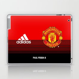Pogba - Manchester United Home 2018/19 Laptop & iPad Skin
