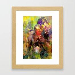 The boxers Framed Art Print