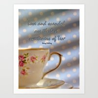 scandal Art Prints featuring Love and Scandal... by Karen Lewis