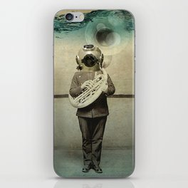 the diving bell Tuba quintet iPhone Skin