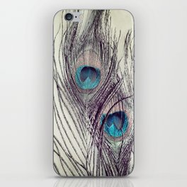 Peacock Feathers iPhone Skin