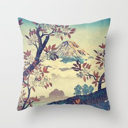 Suidi the Heights Throw Pillow