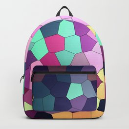 Abstract stained Backpack
