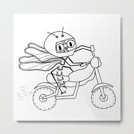 Summer pleasures -Motorcycle Metal Print