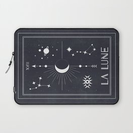 The Moon or La Lune Tarot Laptop Sleeve