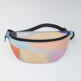 Multicolor Mosaic Shapeshifter Fanny Pack
