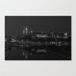 Wawel. Canvas Print