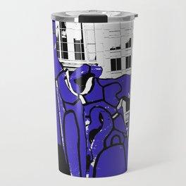 Chicago art print - art sculpture, 'Monument with Standing Beast' - urban photography Travel Mug