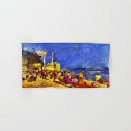 Istanbul At Night Van Gogh Hand & Bath Towel