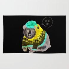 Christmas Bear Rug