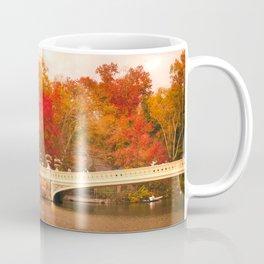 New York City Autumn Magic in Central Park Coffee Mug