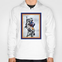 gundam Hoodies featuring Gundam Pride by Julie Maxwell