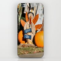 turkey iPhone & iPod Skins featuring Turkey Timer by IowaShots