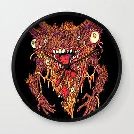 Creep Dish Pizza Wall Clock