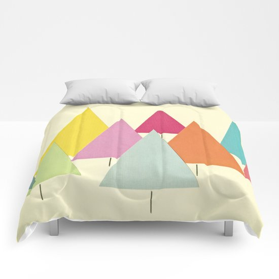 Fir Trees Comforters