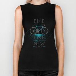 Bike like a new yorker Biker Tank