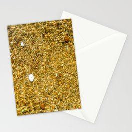 The bottom under the clean water Stationery Cards
