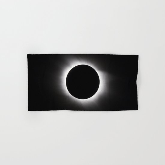 Solar Eclipse Hand & Bath Towel