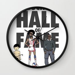 Medschool Hall of Fame Wall Clock