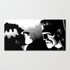 Frankie and the Bride Canvas Print