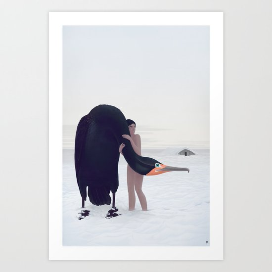 You Could Stay There. Less sky.  Art Print