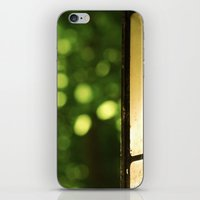 outdoor iPhone & iPod Skins featuring Outdoor Bokeh by Red and The Beard