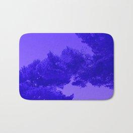 Blue Summer Pines Bath Mat