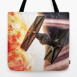 Toy TIE Fighter Tote Bag