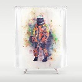 Superfluous Realization Shower Curtain