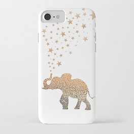 GOLD ELEPHANT iPhone Case