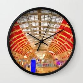 Paddington Railway Station Pop Art Wall Clock