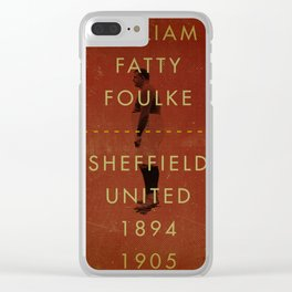 Sheffield United - Foulke Clear iPhone Case