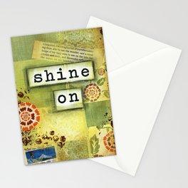 Shine on Stationery Cards
