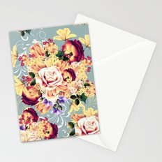 Roses and lilac. Beautiful victorian design Stationery Cards