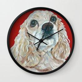 Lola the Cocker Spaniel Wall Clock