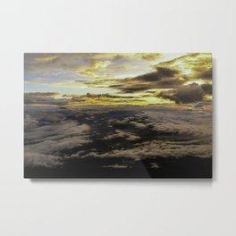 Mount Fuji Sunrise Metal Print