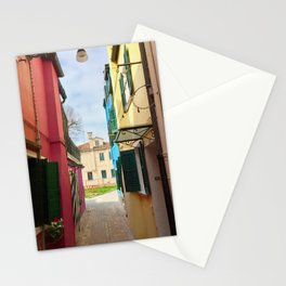 Been There, Shot That (Pt. 7 – Burano, Italy) Stationery Cards