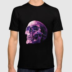 Skull Mens Fitted Tee Black MEDIUM